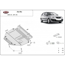 Kia Rio (cover under the engine) - Metal sheet