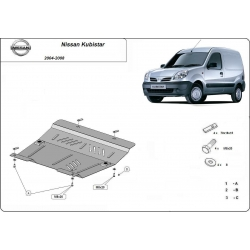Nissan Kubistar (cover under the engine) - Metal sheet