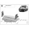 Renault Master kryt pod motor - Plech