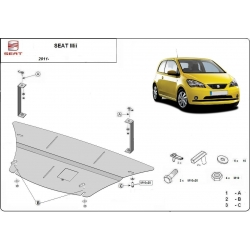 Seat Mii (cover under the engine) - Metal sheet
