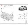 Seat Altea (cover under the engine) 1.2, 1.4Tsi, 1.6Tdi - Metal sheet