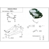Daewoo Nexia kryt pod motor 1.5 16V - Plech