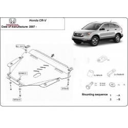 Honda CRV (cover under the engine) 2.0 - Metal sheet