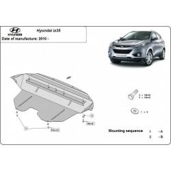 Hyundai IX35 kryt pod motor - Plech