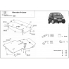 Mercedes A-Klasse (cover under the engine) W168, W169, 1.4 Ben, 1.6 Ben, 1.6CDI, 1.7CDI, 1.8CDI, 2.0CDI - Metal sheet