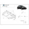 Peugeot 207 (cover under the engine) 1.4, 1.6 - Metal sheet