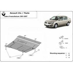 Renault Clio/Thalia kryt pod motor 1.4, 1.5Dci, 1.8D, 1.9DTi - Plech
