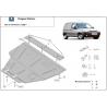 Peugeot Partner kryt pod motor 1.8, 1.9D, 1.9TD, 2.0HDi, 2.3JTD, 2.5TD - Plech