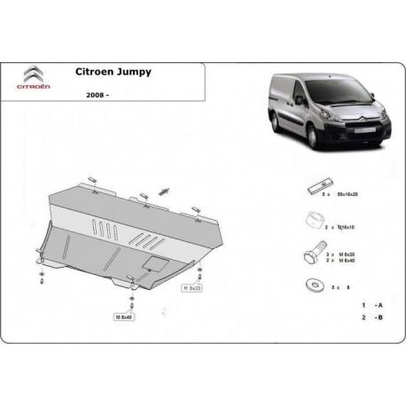 Citroen Jumpy (cover under the engine) 1.8HDi, 1.9TD, 2.0HDi - Metal sheet
