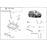 VW Touran (cover under the engine) 1.9PD, TDi - Metal sheet