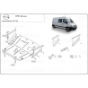 Opel Movano (cover under the engine) 1.9dTi, 2.2dCi, 2.5dCi, 2.8dCi, 3.0dCi - Metal sheet