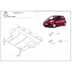Citroen C1 kryt pod motor 1.0, 1.4HDi - Plech