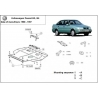 VW Passat B3, B4 (cover under the engine) 1.4, 1.6, 1.9D servo - Metal sheet