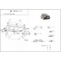 VW Passat B5 (kryt pod motor) V5, 2.3