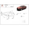 Seat Exeo (cover gearbox) 1.9, 2.0TDi - Metal sheet