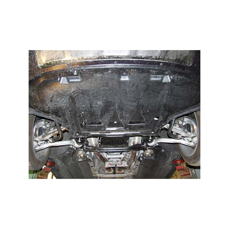 Audi A6 Allroad Cover Under The Engine And Gearbox Aluminium