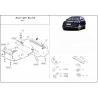 Audi Q7, S-Line (cover under the engine) 4.2 - Aluminium