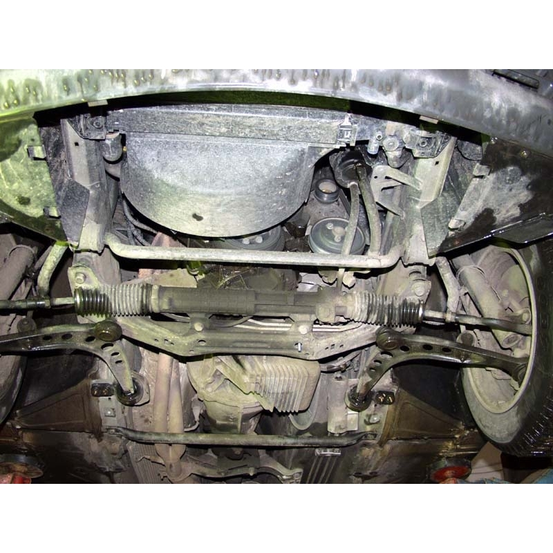 Bmw E36 Cover Under The Engine Metal Sheet