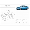 BMW E46 (cover under the engine) 2.1, 2.5 - Metal sheet