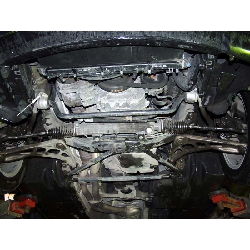 BMW E46 (cover Under The Engine) 1.6, 1.8, 2.0, 2.3