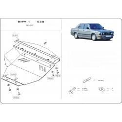 BMW E28 kryt pod motor 1.8 - Plech