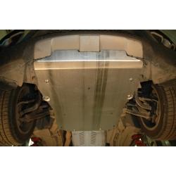 BMW X6 (cover under the engine) 3.0 TDI - Aluminium