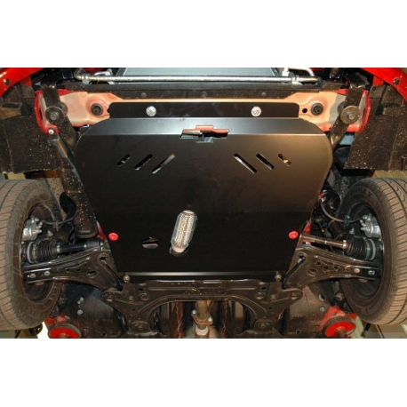 Chevrolet Aveo (cover under the engine and gearbox) 1.2, 1.4, 1.5 - Metal sheet