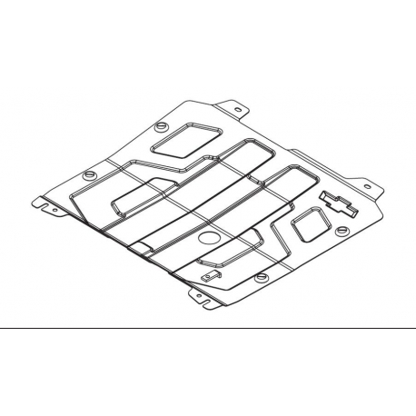 Chevrolet Orlando (cover under the engine and gearbox) 1.8 - Metal sheet