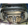 Chevrolet Spark M200 (cover under the engine and gearbox) 0.8, 1.0 - Metal sheet