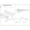 Fiat Punto (cover under the engine and gearbox) - Metal sheet