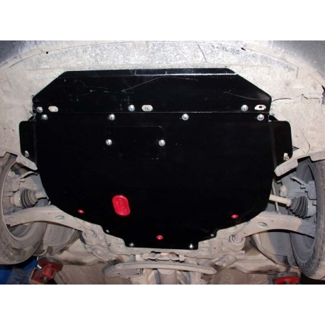 Ford Focus II (cover under the engine and gearbox) - Metal sheet