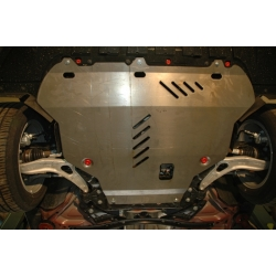 Ford Focus III (cover under the engine and gearbox) 1.6, 2.0 - Aluminium