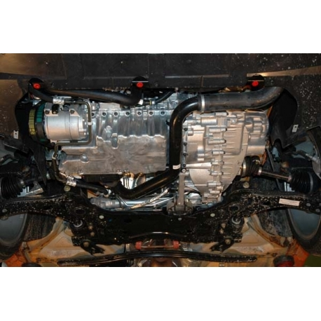 Ford Focus II ST (cover under the engine and gearbox) 2.5 turbo - Metal sheet