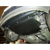 Ford Fusion (cover under the engine and gearbox) 1.2, 1.4, 1.6 - Metal sheet