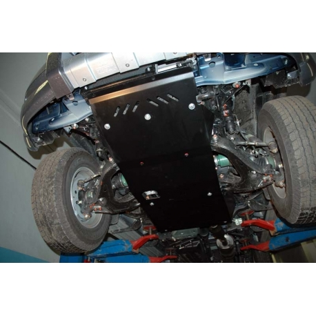 Ford Ranger (cover under the gearbox) 2.5 TD, 3.0 TD - Aluminium