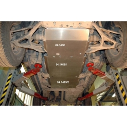 Hummer H3 (cover under the gearbox) 3.7 - Aluminium
