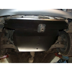 Hyundai Coupé / Tiburon (cover under the engine and gearbox) - Metal sheet