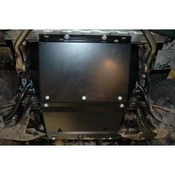 Hyundai H-1 / Starex / Satellite (cover under the engine and gearbox) 2.4, 2.4 (4WD), 2.5TD, 2.5TD (4WD) - Metal sheet