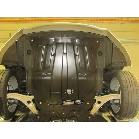 Hyundai i40 (cover under the engine and gearbox) - Metal sheet
