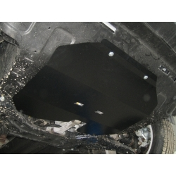 Hyundai iX35 (cover under the engine and gearbox) - Metal sheet