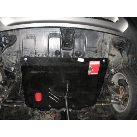 Hyundai iX55 Kryt pod motor a převodovku - Hliník