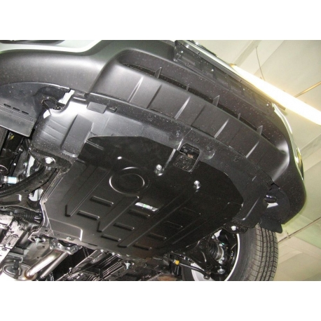 Hyundai Santa FÉ Kryt pod motor a převodovku - Plech