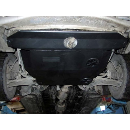 Hyundai Sonata II (cover under the engine and gearbox) - Metal sheet