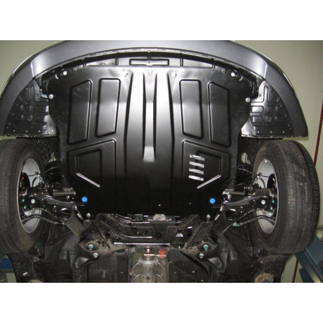 Hyundai Sonata (cover under the engine and gearbox) 2.0AT, 2.4AT - Metal sheet
