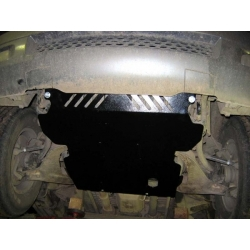 Hyundai Terracan (cover under the engine) - Aluminium