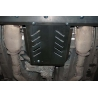 Infiniti FX 35 (Cover the automatic transmission) 3.5 - Metal sheet