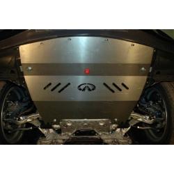 Infiniti G 37 S / Q 50 / Q 60 (cover under the engine) 2.5, 3.7 - Aluminium