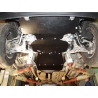 Infiniti QX 56 (Cover the automatic transmission) 5.6 - Metal sheet