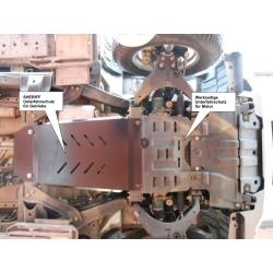 Isuzu D - Max (cover under the gearbox) 2.5CRDI - Aluminium