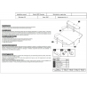 Jeep Cherokee (cover under the engine) 2.8 CRD, 3.7, 4.0 - Metal sheet